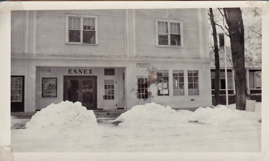 Vintage photograph of the Essex Post Office (Shared by Susie Drinkwine)