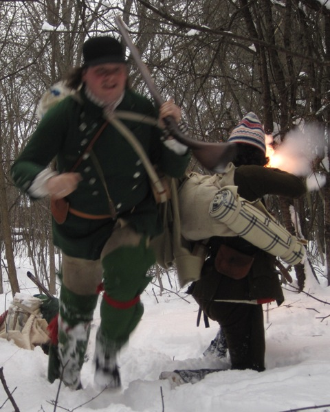 "Fort Ticonderoga's ""Fort Fever Series!"" begins January 11, 2015, when Artificer Tailor Gibb Zea delves into what Rogers' Rangers wore. The program takes place at 2 pm. and takes place in the Mars Education Center. Admission is $10; free for Members of Fort Ticonderoga. (Credit: Fort Ticonderoga)"
