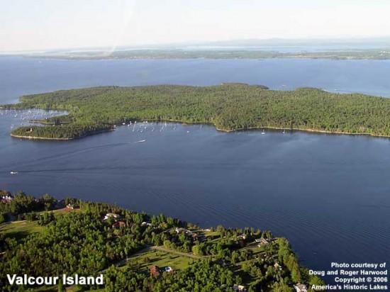 Lake Champlain near Valcour Island (Photo courtesy of Doug & Roger Harwood via America's Historic Lakes)