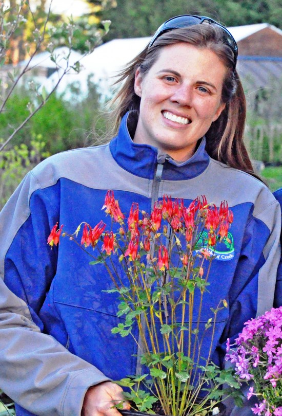 Emily DeBolt, from Fiddlehead Creek Native Plant Nursery, is one of the featured speakers at Fort Ticonderoga's Fourth Annual Garden & Landscape Symposium April 18th. Registration is now open for this one-day symposium. (Credit: Fort Ticonderoga)
