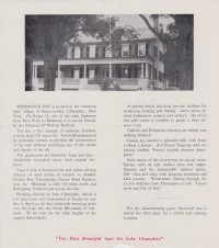 Sherwood Inn Brochure (Inside)
