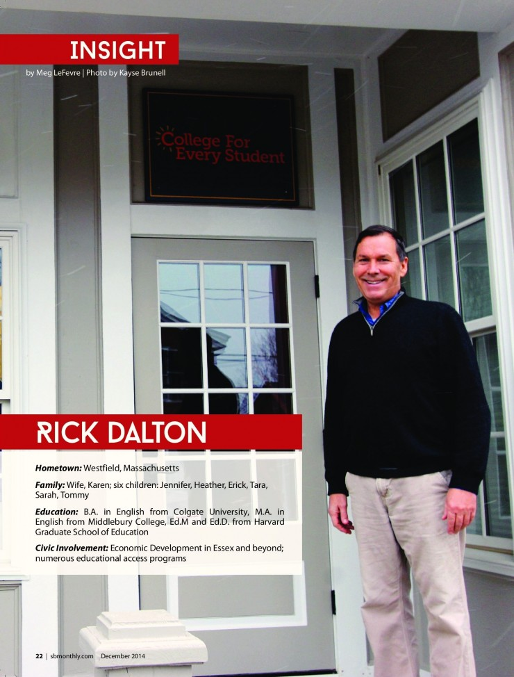 Rick Dalton Featured in Strictly Business (Credit: Strictly Business)