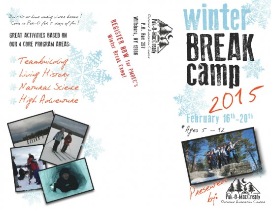 PMOEC Winter Break Camp 2015 (Credit: Pok-O-MacCready Outdoor Education Center)