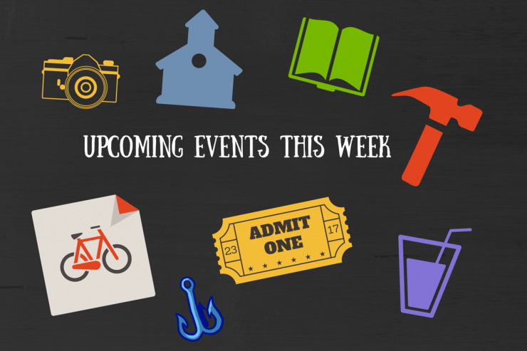 Upcoming Events This Week (Graphic)