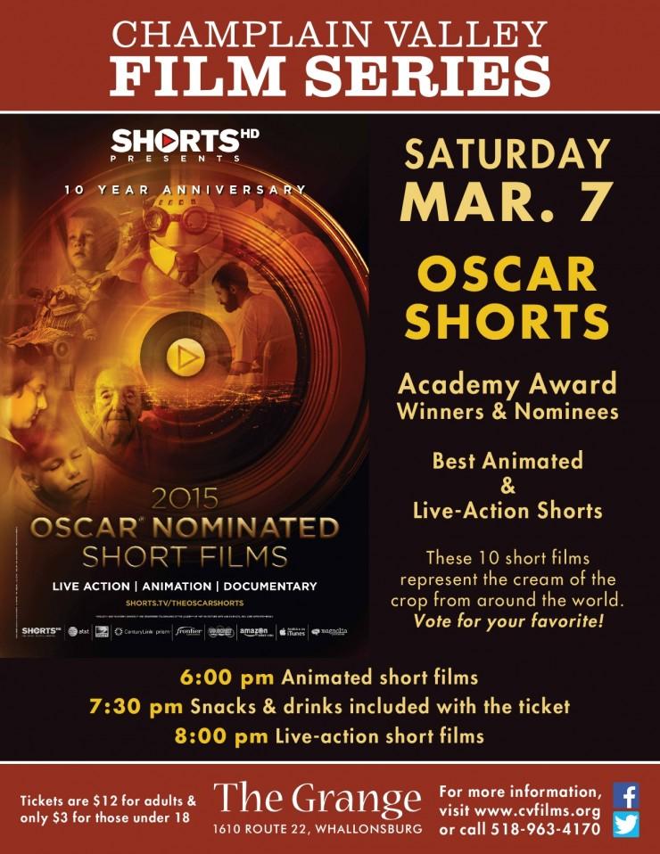 OSCAR SHORTS 2015 Poster