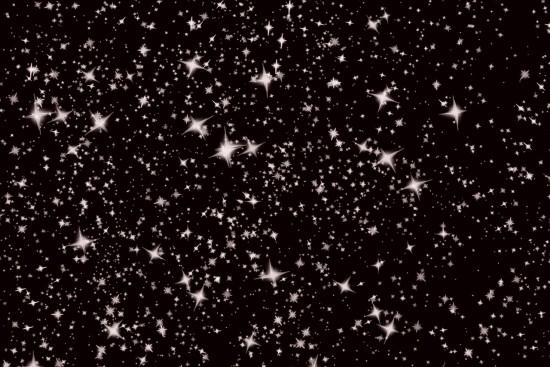 Snowy night sky (Credit: Jill111)