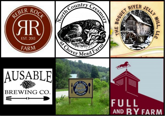 (Local Essex County Agriculture Logos Collage)