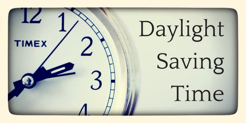 Daylight Saving Time 2015