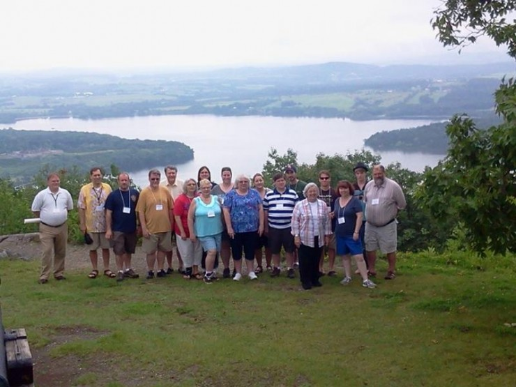 Fort Ticonderoga is now accepting applications from teachers to participate in this year's Institute June 28 – July 3, 2015. [Image of participants in the 2014 Fort Ticonderoga Teacher Institute. (Credit: Fort Ticonderoga)]