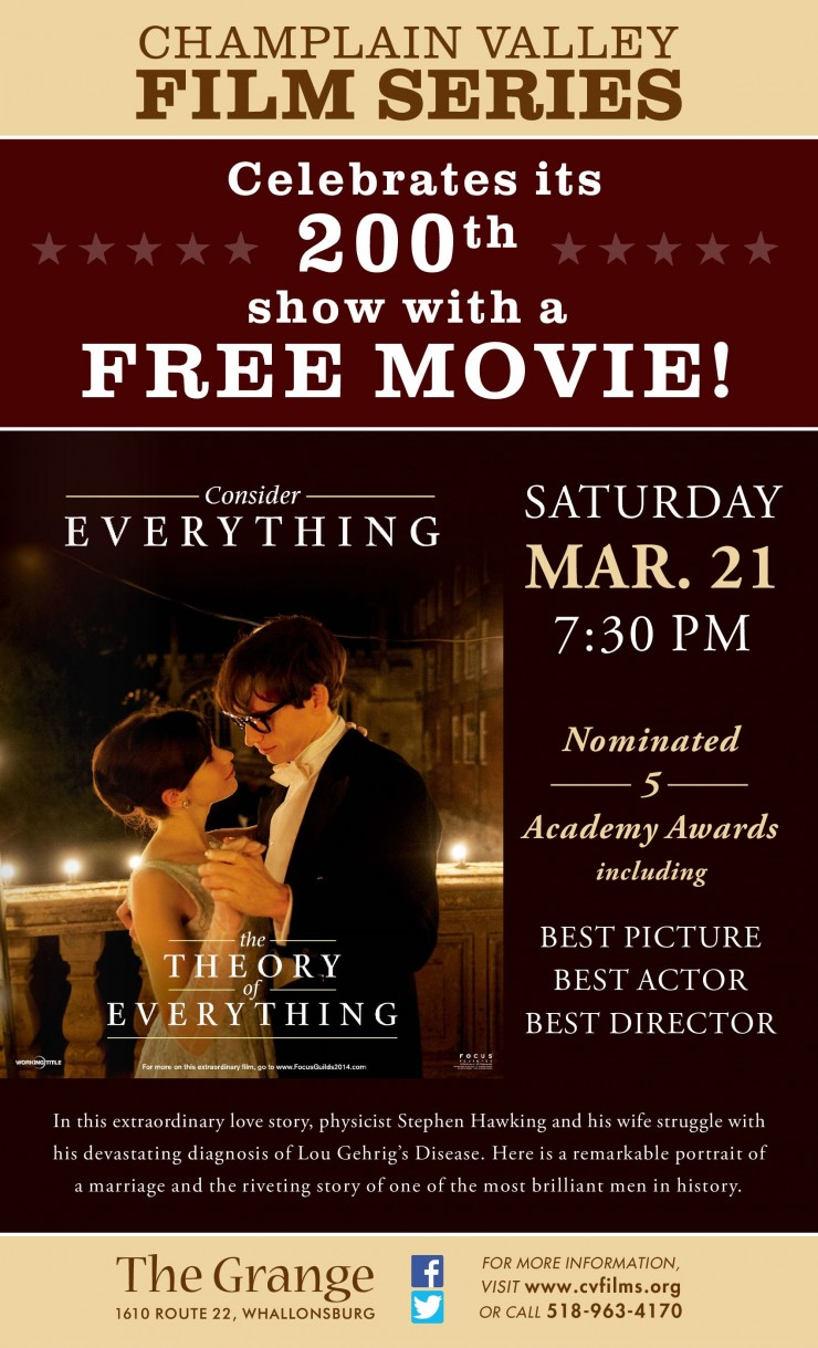 The Theory of Everything CVFS Poster