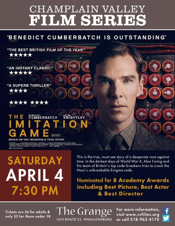 Imitation Game - CVFS Poster