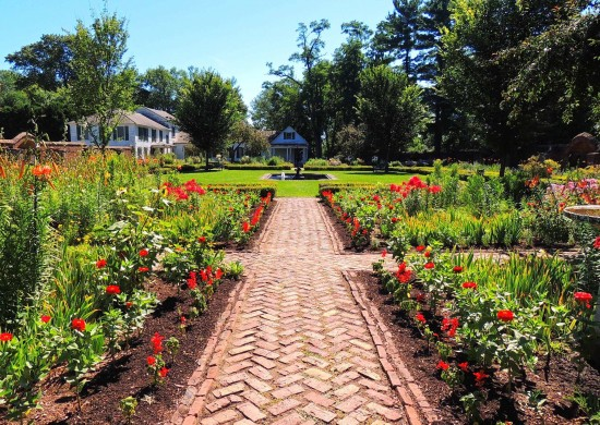 """Fort Ticonderoga's final """"Fort Fever Series"""" takes place on Sunday, April 19, at 2 pm with a presentation by Assistant Director of Interpretation, titled """"A Layered Legacy."""" (Photo: Image of the King's Garden at Fort Ticonderoga)"""