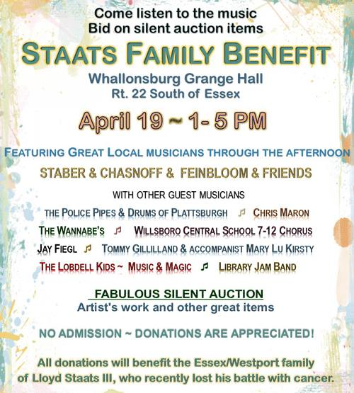 Staats Family Benefit (Poster)
