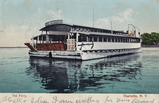 Windsor Ferry Postcard