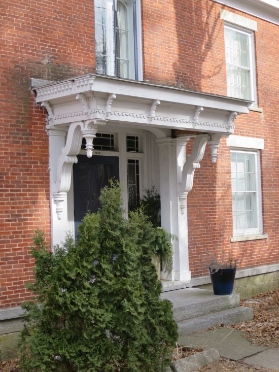 Henry Gould House Entrance (Credit: virtualdavis)