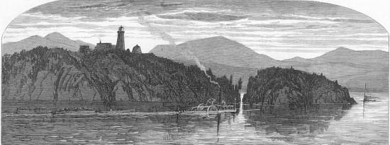 Spilt Rock 1872 woodcut