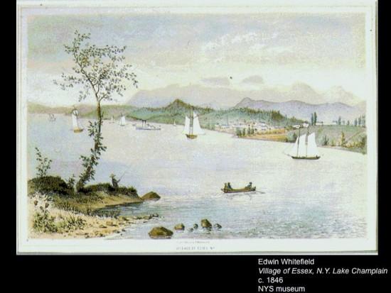 Drawing of Essex circa 1846