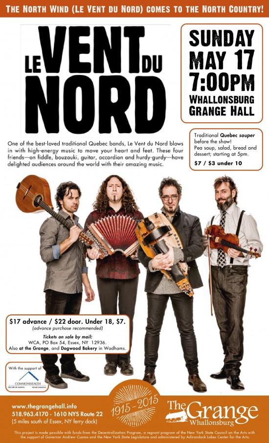 Le Vent du Nord Grange Poster