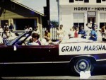 Essex Memorial Day Parade 1972: Grand Marshal Car (Credit: Harry and Judy Koenig)