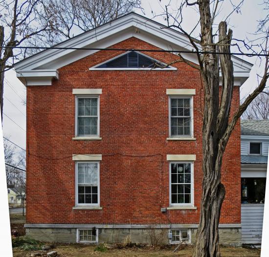South Facade of Henry Gould House (Credit: virtualdavis)