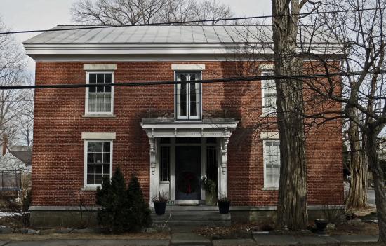 Henry Gould House West Facade (Credit: virtualdavis)