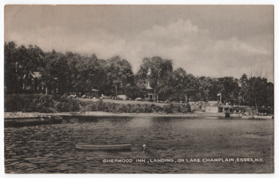 Sherwood Inn Waterfront Postcard