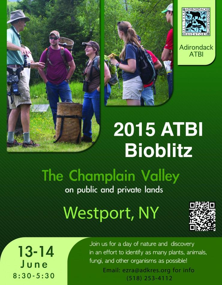 2015 BioBlitz Flier