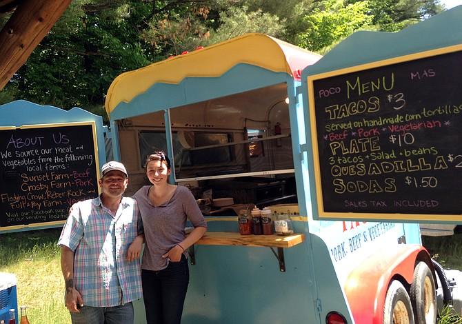 Sarah King and Josh Zack's Taco Truck