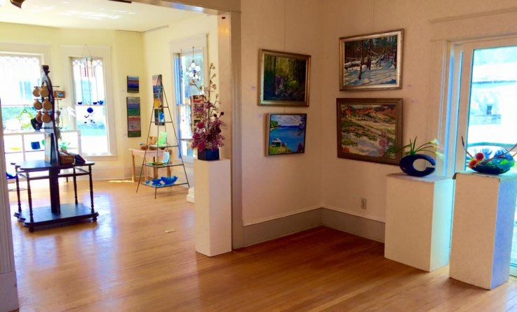 """Rejuvenation"" exhibit at the Adirondack Art Association (Credit: Amy Guglielmo)"