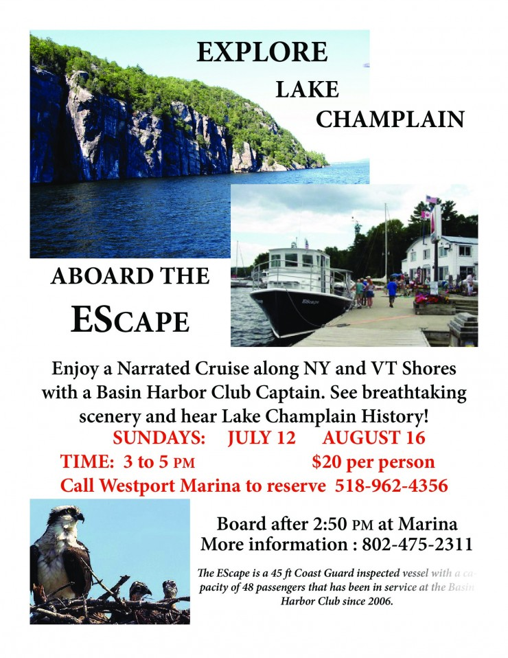 EScape Cruise Poster