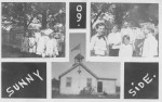 Vintage Photographs of the Whallons Bay Schoolhouse and children. (Credit: Unknown, Shared by Todd Goff)