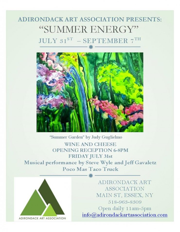"AAA ""Summer Energy"" opening flyer"