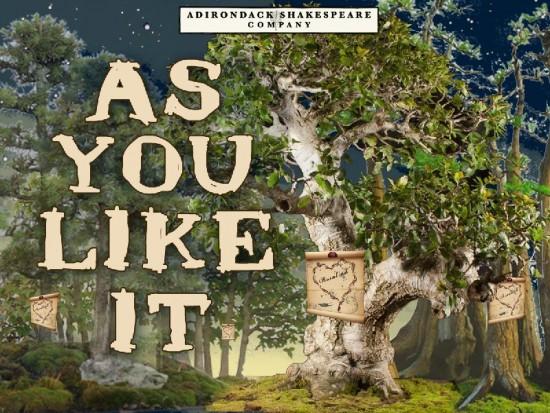 As You Like It (Design credit: Patrick Siler.)