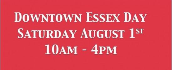 Essex Day Sign