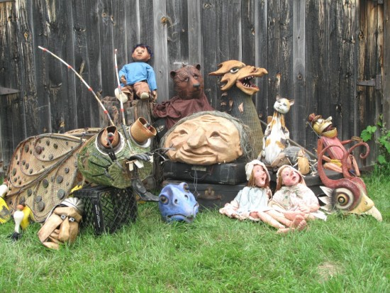 Puppets & Masks (Credit: Mettawee River Theatre Co.)