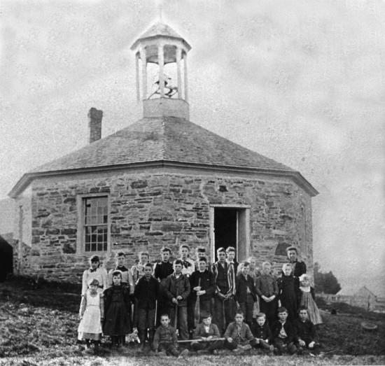Boquet Octagonal School (Credit: Essex County Historical Society)