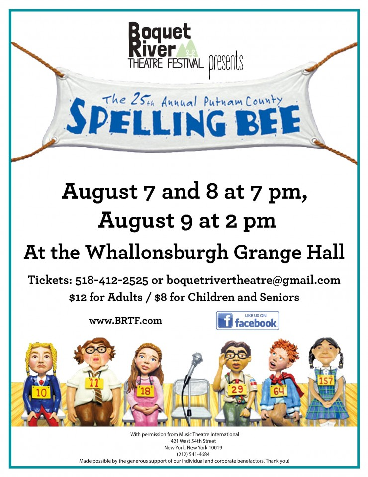 SpellingBee BRTF2015 poster