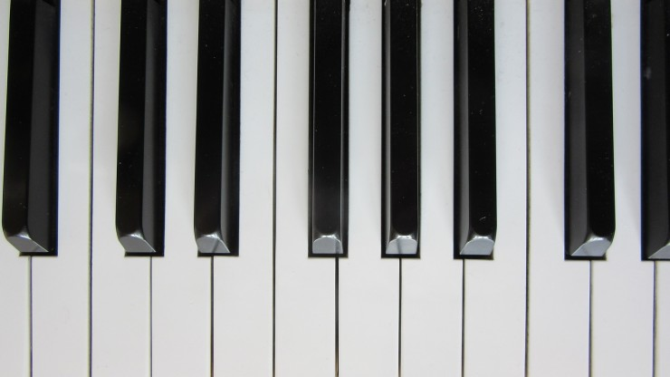 Piano Keys (Credit: Pixabay)