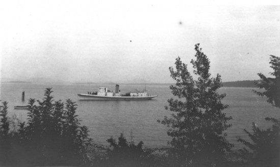 Ship on Whallons Bay (Shared by Todd Goff)