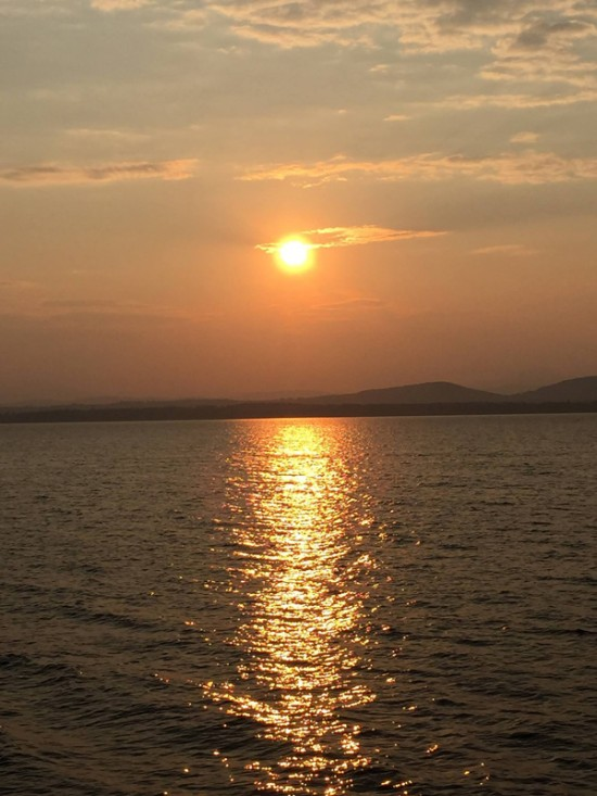 August on Lake Champlain (Source: Susan Martini)