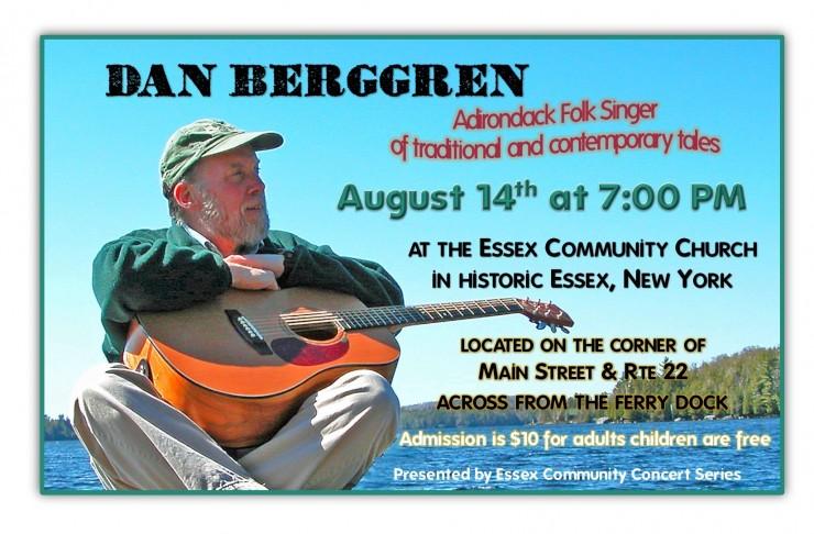 Dan Berggren poster