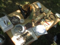 Essex Day 2015: Table of Various Items