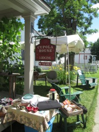 Essex Day 2015: Fire Dept. Benefit Sale at the Cupola House (Credit: Katie Shepard)
