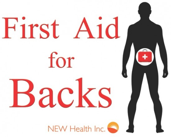 First Aid for Backs Logo