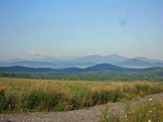 Whallonsburg Adirondack View, Summer 2015 (Source: Kathryn Reinhardt)