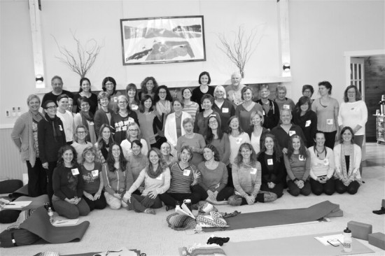 The full group at the 2014 Up North Yoga Conference.