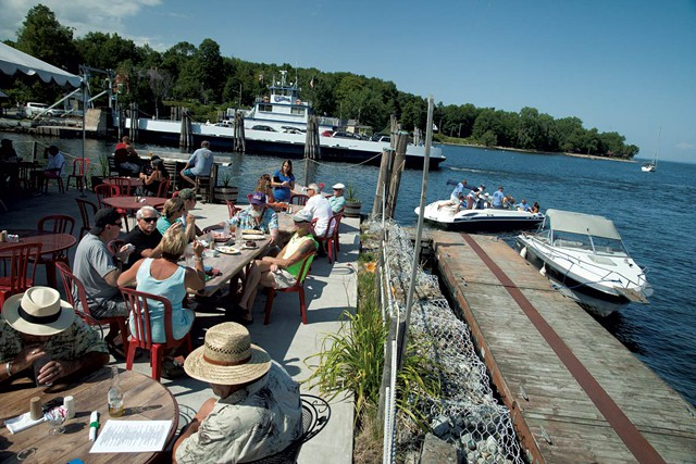 Old Dock Restaurant, Essex, NY (Credit: MATTHEW THORSEN)