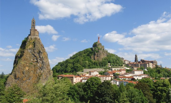 Le Puy-en-Velay, France (Credit: Wikipedia)