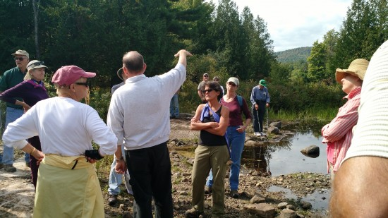 """""""On the Trail to the Monitor"""" hike with local historian Morris Glenn (Credit: CATS)"""