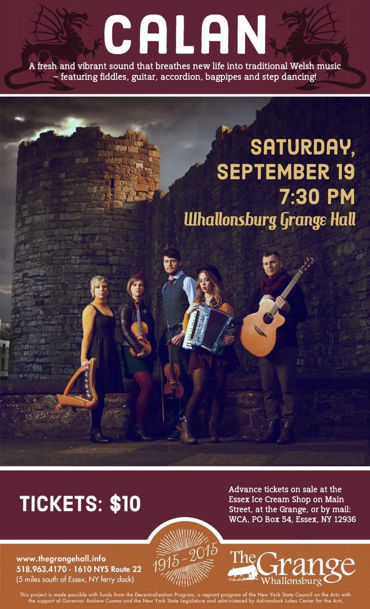 Calan Concert Flyer